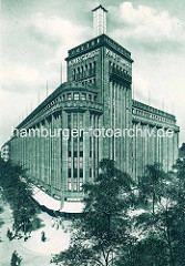 Historisches Foto vom Warenhaus Karstadt an der Hamburger STraße in Hamburg Barmbek.