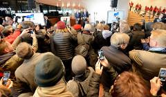 Festakt zur Eröffnung der Plaza / Aussichtsplattform der Elbphilharmonie in der Hansestadt Hamburg.