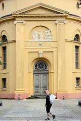 Ehem. Pfarrkirche Neuruppin; fertiggestellt 1806 nach Plänen von Philipp Bernard Francois Berson - jetzt Kulturkirche / Veranstaltungszentrum.