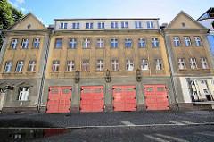 Altes Feuerwehrgebäude in der Schinkelstraße / Neuruppin.
