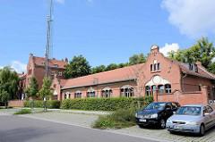 Ehem. Friedrich Franz Kaserne in Neuruppin - jetzt u. a. Sozialgericht.