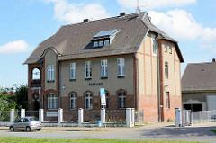 Gebäude Altes Postamt in Fehrbellin - Kaiserliches Postamt, erbaut 1909.