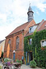 Siechenkapelle St. Laurentius in Neuruppin; erbaut 1491 - spätgotischer Backsteinbau.