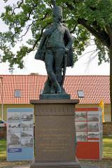 Denkmal Hans Joachim Zieten / Zietendenkmal in Wustrau, General der Cavallerie.