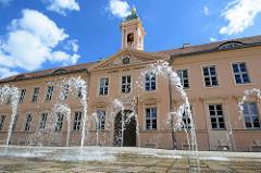 Altes Gymnasium in Neuruppin, 1790 eingeweiht.