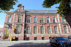 Postgebäude Am alten Gymnasium in Neuruppin erbaut 1801 - Neorenaissance.