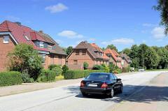 Doppelhhäuser in der Randersweide, Hamburg Bergedorf .