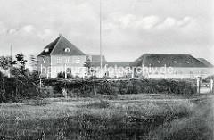 Druiden Kinderheim in Duhnen - alte Fotografie. Der Druiden Orden gründete das Kinderheim kurz nach dem I. Weltkrieg für erholungsbedürftige Kinder.