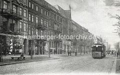 Altes Bild aus Hamburg Rothenburgsort - Billhorner Röhrendamm.