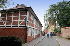 Alte Wache vom Schloss Ritzebüttel in Cuxhaven - erbaut 1819.