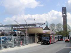Umgestaltung / Neubau vom Busbahnhof Wandsbeker Markt in Hamburg Wandsbek (ca. 2005)