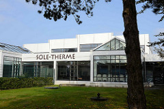 Architektur der Sole Therme in Otterndorf