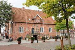 Historisches Rathaus von Otterndorf; erbaut 1583.