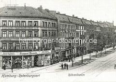 Alte Fotografie aus Hamburg Rothenburgsort - Billhorner Röhrendamm.