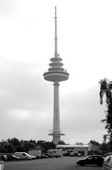 Fernmeldeturm - Friedrich-Clemens-Gerke-Turm in Cuxhaven - Höhe 230 m; Architekten Gerhard Kreisel und Günter H. Müller