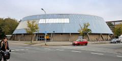 Städtische Rundturnhalle / Sporthalle in Cuxhaven - Beethovenallee.