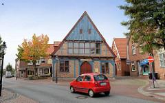 Historisches Wohn- / Geschäftshaus an der Reichenstraße in Otterndorf.
