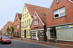 Wohn- und Geschäftshäuser in der Marktstraße von Otterndorf - Einzelhandel / Hotel und Gästehaus.