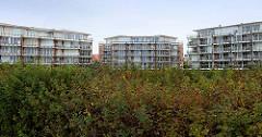 Wohnanlage / Ferienwohnungen in Duhnen / Cuxhaven an der Nordsee.