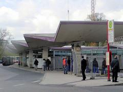 Überdachung vom alten Busbahnhof Wandsbeker Markt (ca. 2005)