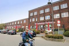 Alte Fischhallen an der Neufelder Straße in Cuxhaven - jetzt Restaurant / Imbiss.
