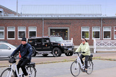 Ehem. Fischversandbahnhof in Cuxhaven - jetzt als Gastronomie verplant.