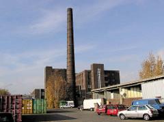 Historische Industriearchitektur Hamburgs - alte GEG Großeinkaufs-Gesellschaft Deutscher Consumvereine Gebäude auf der Veddel.