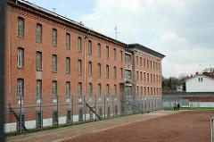 Zellentrakt der Hamburger Justizvollzugsanstalt Fuhlsbüttel - Santa Fu.
