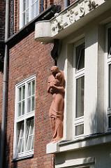 Im ehem. Kinderkrankenhaus in der Marckmann- strasse von Hamburg Rothenburgsort sind zwischen 1941 und 1945 mehr als 50 behinderte Kinder getötet worden.
