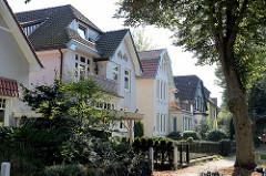 Farnstraße in Hamburg Fuhlsbüttel - Einzelhäuser / Stadtvilla.