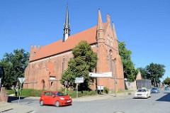 St. Johannes Kirche - ehem. Franziskanerkloster in Neubrandenburg