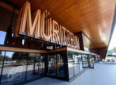 Museum und Naturerlebniszentrum Müritzneum in Waren / Müritz.