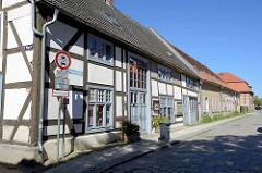 Gebäude vom Marstall Neubrandenburg - Behmestrasse / Kl. Ringstraße; erbaut um 1782 - z. Zt. Nutzung als Café und Veranstaltungsgebäude.