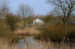 Bis zum Bau der Filteranlage auf der Billwerder Insel Kaltehofe wurde das Wasser ungefiltert aus der Elbe entnommen und als Trinkwasser über die Stadtwasseranlage.