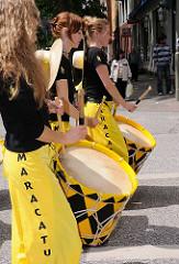 Der Freundeskreis MARACATU hat sich die Pflege und Förderung der brasilianischen Musikkultur zum Ziel gesetzt.