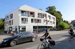 Gebäude Radlon - Fahrrad Komfort Hotel in Waren / Müritz.