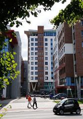 Verwaltungsgebäude der Freien und Hansestadt Hamburg; Behörde für Soziales, Familie, Gesundheit und Verbraucherschutz.