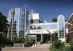Das Wilhelmsburger Krankenhaus Groß Sand gehört der der katholischen Wilhelmsburger Bonifatius Kirchengemeinde.