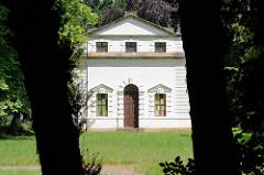 Fremdenhaus - Georgium, historischer Landschaftspark in Dessau-Roßlau.