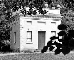 Vasenhaus - Schloss Georgium, historischer Landschaftspark in Dessau-Roßlau.