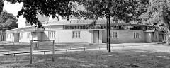 Gebäude vom Arbeitsamt in Dessau, erbaut 1929 - Entwurf Walter Gropius.