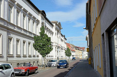 Historische Verwaltungsarchitektur der Gründerzeit, Fassade vom Elbewerk Roßlau, ehemalige Schiffswerft.