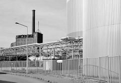 Industriearchitektur in Dessau - Gebäude der Gärungschemie.