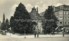 Historische Darstellung vom Berliner Tor in Stettin.