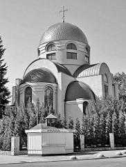 Ansicht der  Russisch-orthodoxe Kirche des hl. Nikolaus (Parafia Prawosławna Św. Mikołaja) in Stettin.