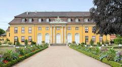 Schloss Mosigkau - Teil vom Gartenreich Dessau-Wörlitz. Rokkoko Schloß.