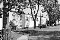 Reihenhaussiedlung / Bauhaussiedlung Törten in Dessau-Roßlau; Entwurf Walter Gropius / 1926-1928.