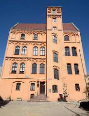 Kaufmannshaus - Loitzenhof / Loitzhaus in Stettin - gotische Architektur.