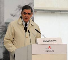 Rede von Romani Rose, Zentralrat Deutscher Sinti und Roma.
