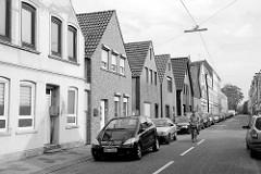 Wohnhäuser, Einzelhäuser mit Spitzdach - Lehe / Bremerhaven.